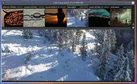 Qimgv: sencillo visor de imágenes con soporte WebM – La ...