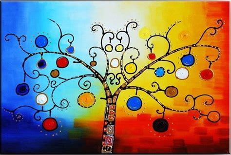 Quadro Abstrato Árvore Sala Promocional | Meuri Quadros e ...
