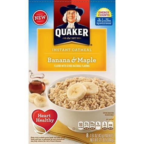 Quaker Avena Cereal Instantáneo Desayuno, Plátano Y De ...