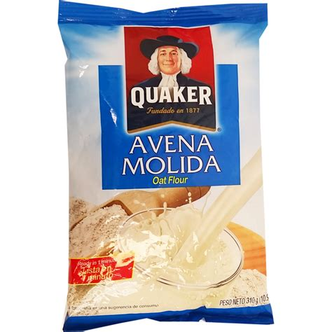 Quaker Ground Oats 16 oz   Avena Molida