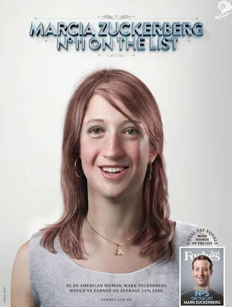 Quanto guadagnerebbe (in meno) Zuckerberg se fosse donna ...