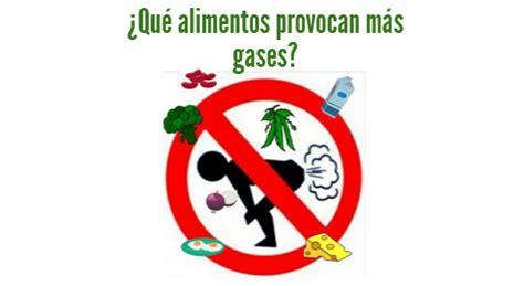 ¿Qué alimentos provocan más gases?