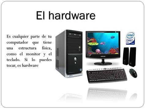 Que Es El Hardware Y Sus Partes