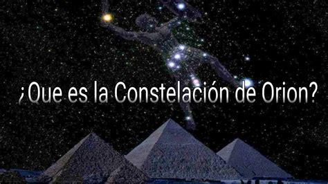 ¿Que es la Constelación de orion? (Mini Documental) - YouTube