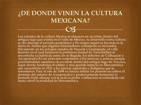 Qué es la cultura mexicana