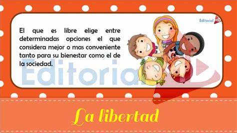 Qué es la Libertad para Niños su Definición y su Significado