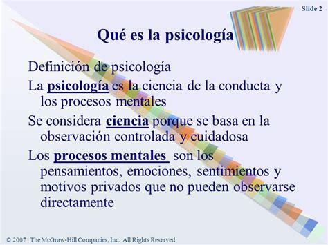 Qué es la psicología Los orígenes de la psicología se ...