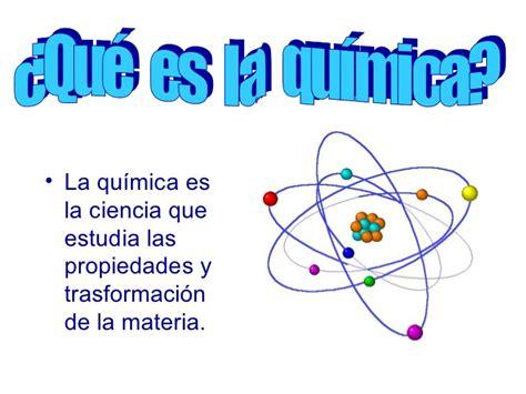 ¿Qué es la quimica
