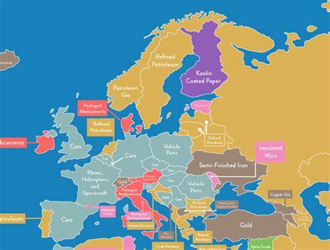 ¿Qué es lo que más exporta e importa cada país del mundo ...