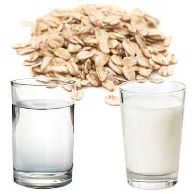 ¿Qué es mejor avena con leche o con agua? ¿La avena se ...