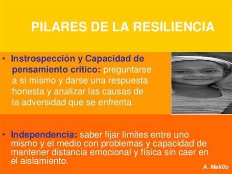 Que es resiliencia