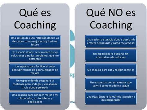 que es y que no es coaching   Buscar con Google   coaching ...
