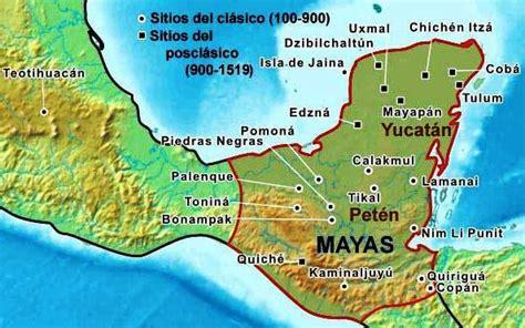 ¿Qué estados de México poblaron los mayas? - México mi país