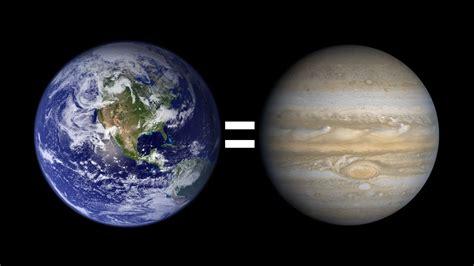 ¿Qué pasaría si la Tierra fuera del tamaño de Júpiter ...