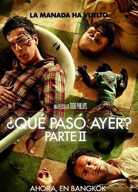 Que Paso Ayer Parte 2 BRRip 2011 Español Latino ...