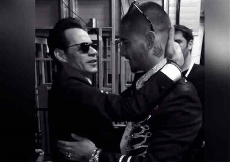 ¿Qué relación tienen Marc Anthony y Maluma? Esta es la ...