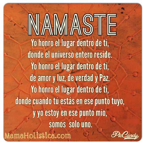 ¿Qué Significa la Palabra Namasté? ॐ   Mamá Holística