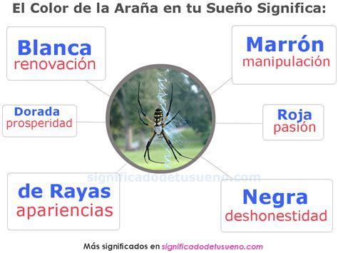 Que significa soñar con arañas – Los significados de todos ...