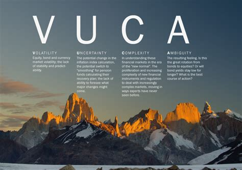 Que significa vivir en un mundo VUCA   Mantras Yoga Tantra ...