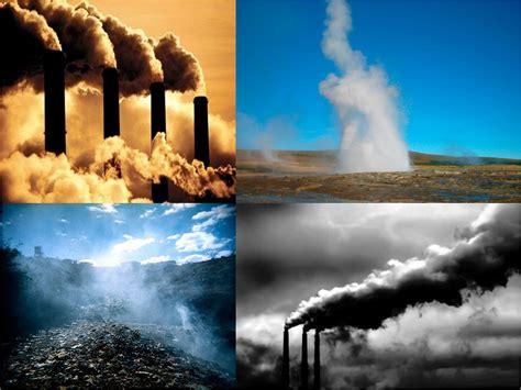 ¿Qué son los gases de efecto invernadero