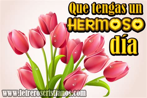 Que tengas un HERMOSO día – Tulipanes « Letreros ...