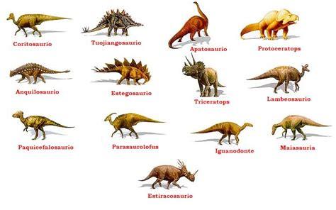 ¿Qué tipos de dinosaurios existieron? » Respuestas.tips