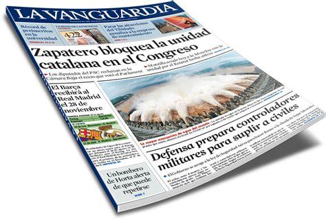 ¡Qué tres patas pa' un banco!: La Vanguardia