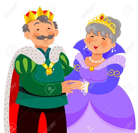 Queen And King Clipart   ClipartXtras