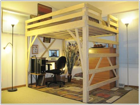 Queen Size Loft Beds For Adults - Uncategorized : Interior ...