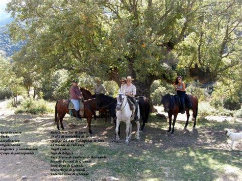 Quejigo del Amo a caballo con La Posada de Colomer ...
