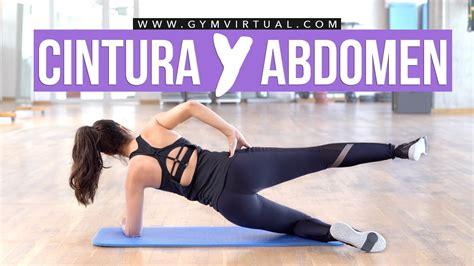 Quemar grasa de la cintura y tonificar abdomen   YouTube