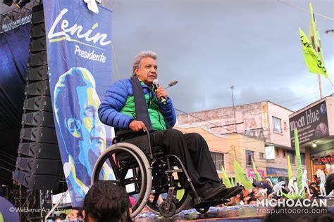 ¿Quien es Lenin Moreno? el nuevo presidente de Ecuador