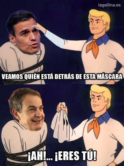 ¿Quién está detrás de Pedro Sánchez? El meme del día
