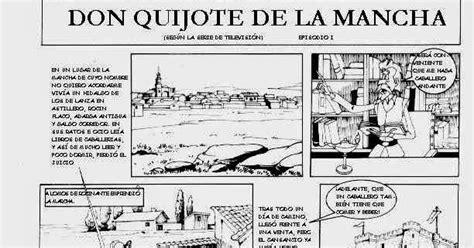 quijoteinmaculada2016: Comic Quijote para colorear