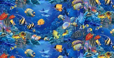 Quilt Fabric  Elizabeths Studio Children of the Sea ...