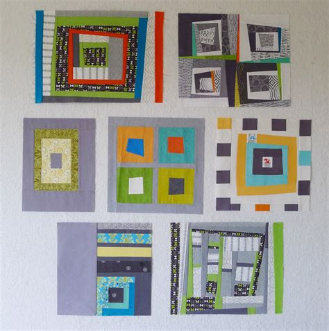 QuiltCon Block Challenge: Log Cabins – The Modern Quilt Guild