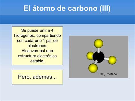 QUÍMICA DEL CARBONO El átomo de carbono Enlaces C-C Tipos ...