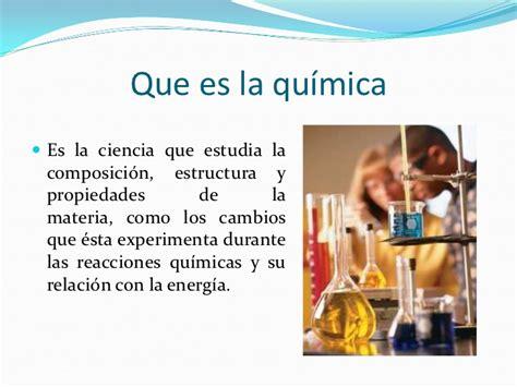 Quimica y fisica