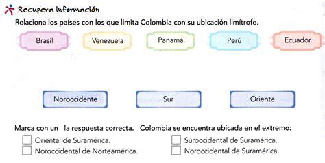QUINTO GRADO : SITUACIÓN GEOGRÁFICA DE COLOMBIA