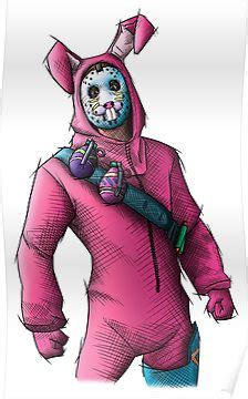 Rabbit Raider - Fortnite Skin Poster | Products ...