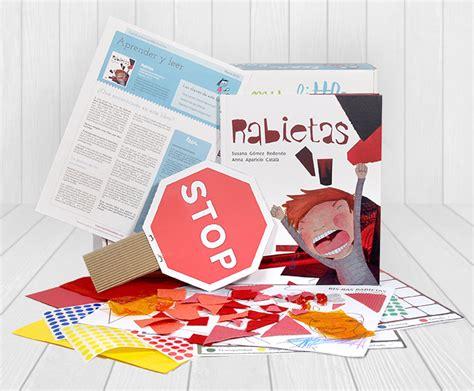 Rabietas la caja de libros y manualidades para niños de 4 ...