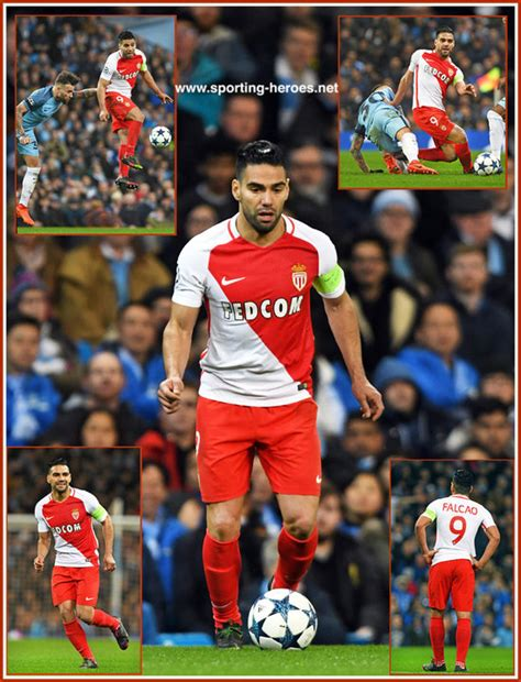 Radamel FALCAO - 2016/17 Champions League. Knock out games ...