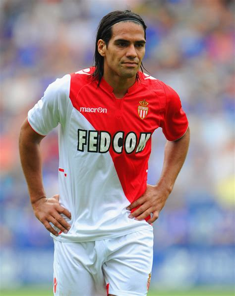 Radamel Falcao in Leicester City v Monaco - Pre Season ...