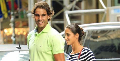 Rafa Nadal, feliz junto a su novia Xisca   Chic