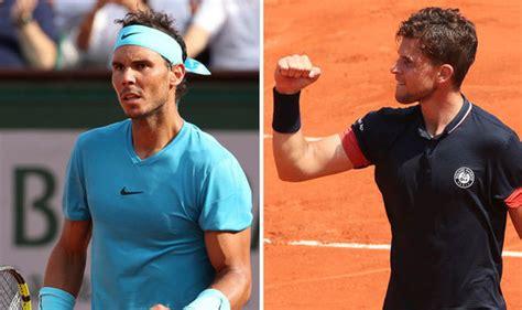 Rafa Nadal vs Thiem LIVE stream: How to watch French Open ...