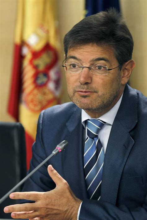 Rafael Catalá, nuevo ministro de Justicia en sustitución ...
