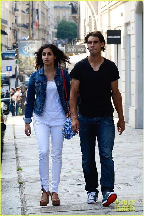 Rafael Nadal and his girlfriend Maria Francisca Perello in ...