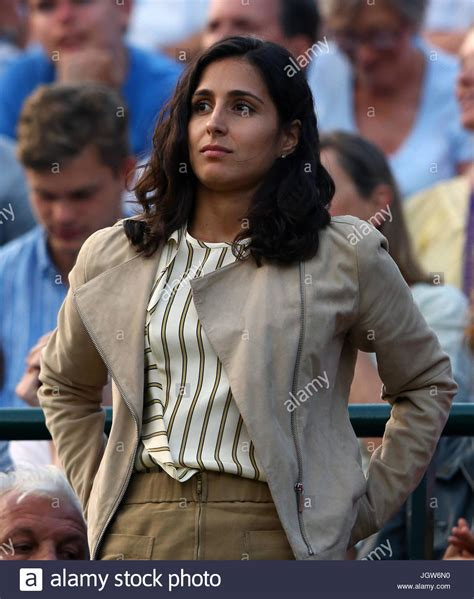 Rafael Nadal's girlfriend Xisca Perello watches him in ...