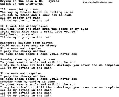 Raindrop Song | AZ Lyrics