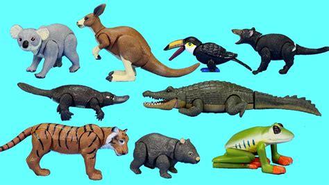 Rainforest Jungle and Australian Wild Animals Toys ...